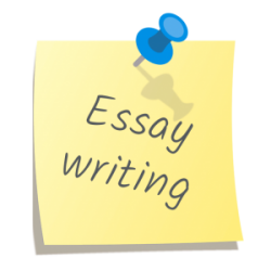 essay thumbtack note